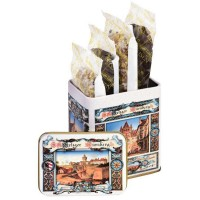 Nuremberg nostalgic tin box white